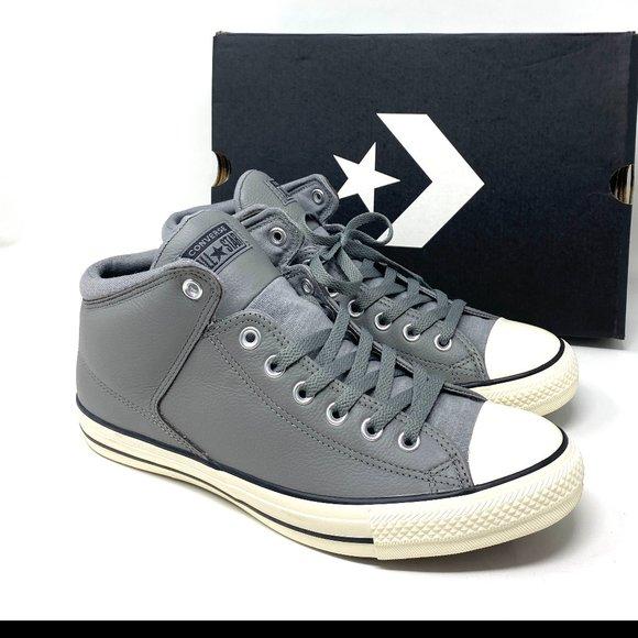 Converse Ctas High Street Mid Top Leather Mason M